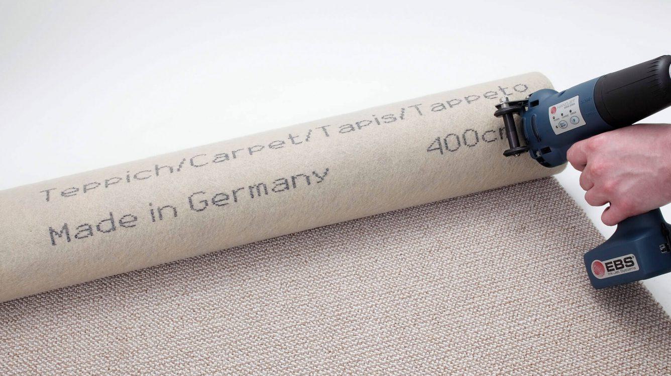 Drukarki ręczne - drukarki ręczne HANDJET EBS 250 druk nawykładzinie