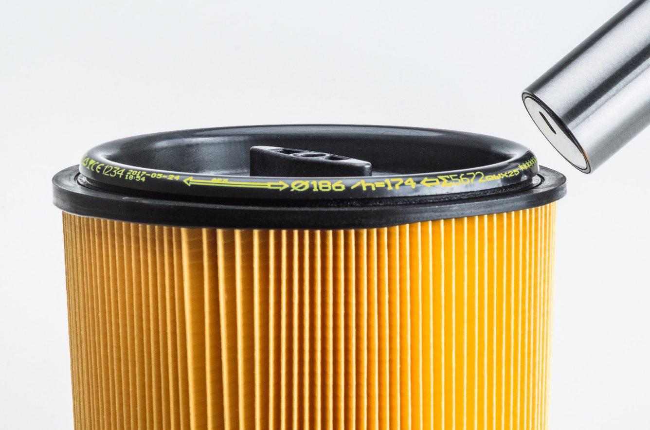 Nadruk napowierzchni cylindrycznej kolorowym atramentem pigmentowym