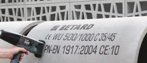 Znakowanie betonu i prefabrykatów betonowych - rozwiazania beton 0004 Film 2013 07 03 265