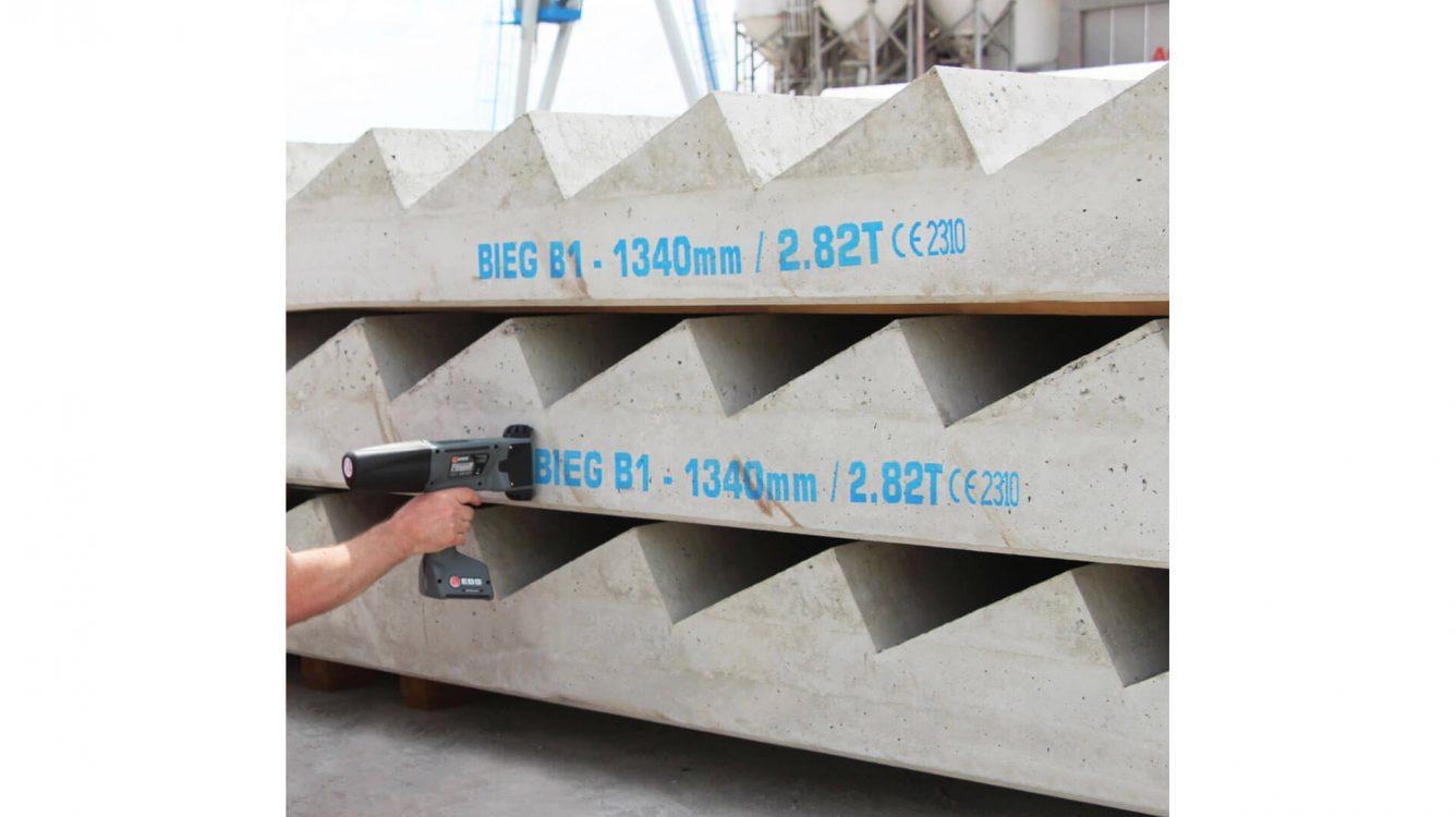 Znakowanie betonu i prefabrykatów betonowych - rozwiazania beton 0008 47 v 2