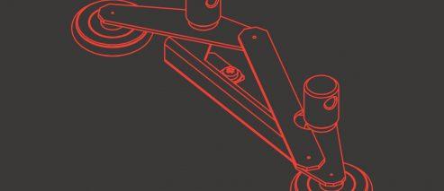 2-rolkowy stabilizator nożycowy EBS-250 - P511313 - 2 rolkowy stabilizator nozycowy EBS 250 stabilizator nożycowy