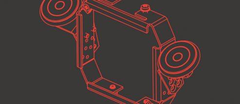 2-rolkowy stabilizator ramowy EBS-250 - P511339 - 2 rolkowy stabilizator ramowy EBS 250 stabilizator ramowy