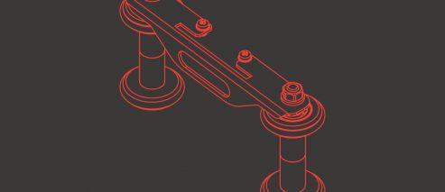 4-rolkowy stabilizator EBS-250 - P511312 - 4 rolkowy stabilizator EBS 250 stabilizator