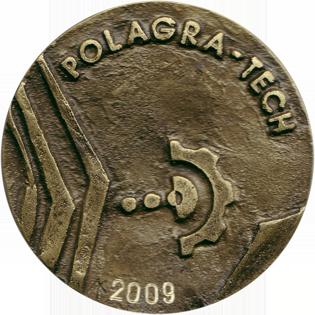 Profil firmy - Medal MTP POLAGRA TECH 2009 awers