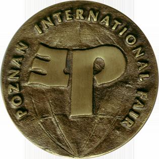 Profil firmy - Medal MTP POLAGRA TECH 2009 rewers