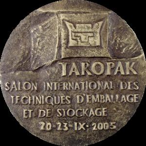 Rys historyczny - Rys historyczny Medal MTP TAROPAK awers