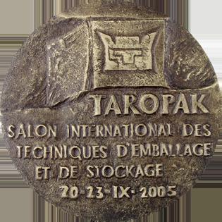 Profil firmy - Medal MTP TAROPAK awers