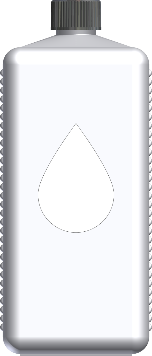 T221022 - butelka 1l bialy