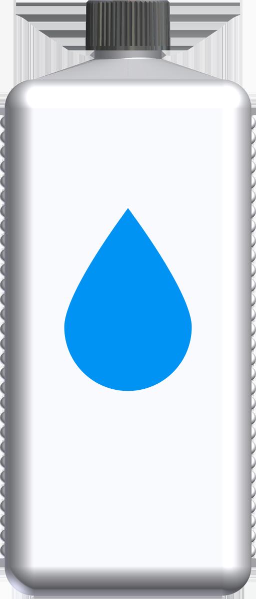 T221039 - butelka 1l niebieska
