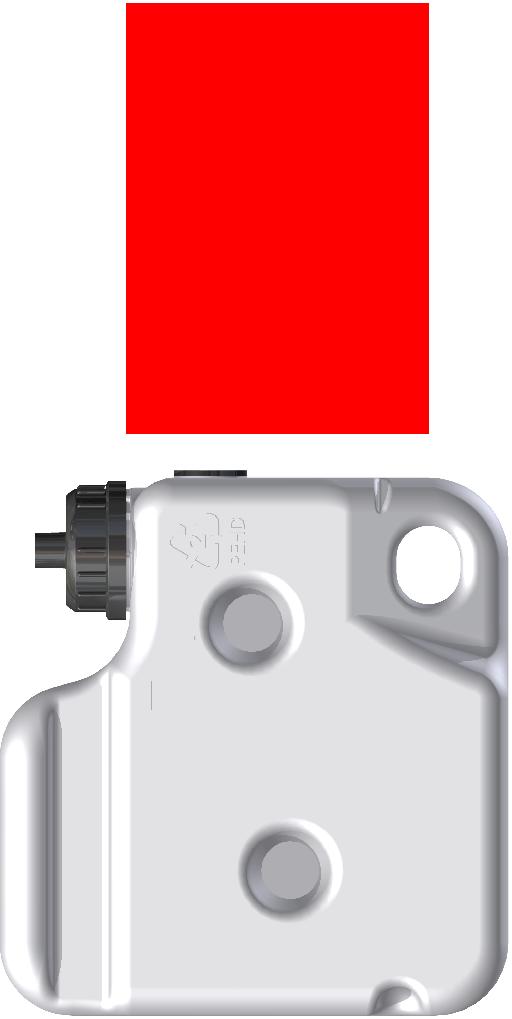 XI30108-200 - butelka cij czerwony