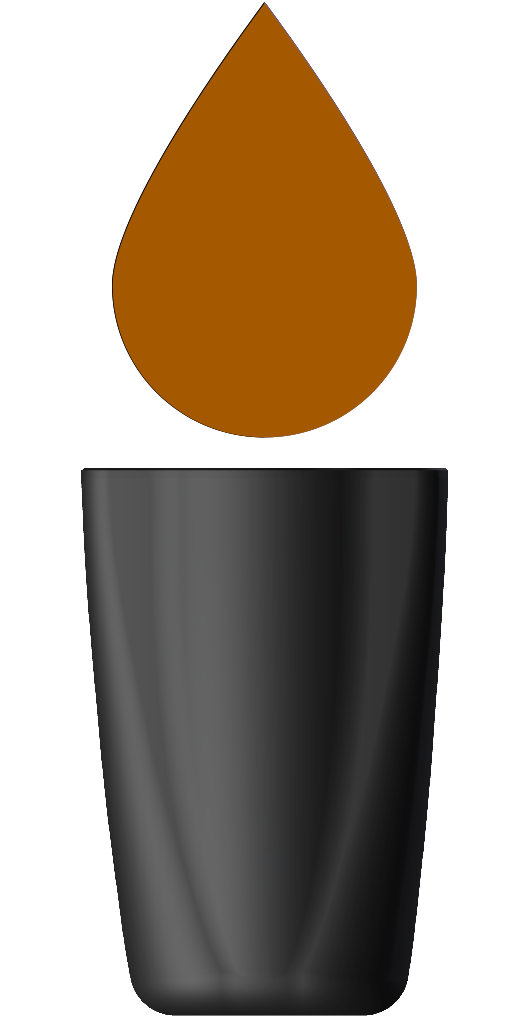 XI40109-000 - butelka handjet 260 brazowy