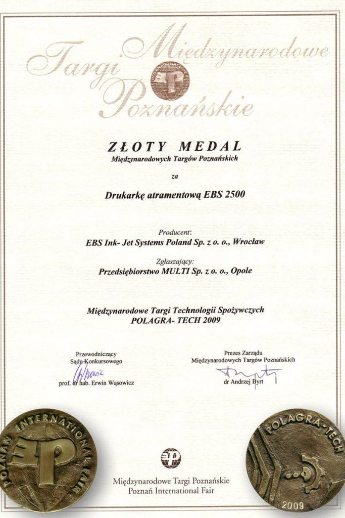 Profil firmy - certyfikaty ebs 0003 EBS 2500 Dyplom zmedalami MTP1230x1748150dpiPL