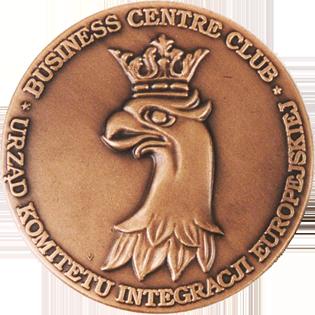 Profil firmy - medal europesjki przod