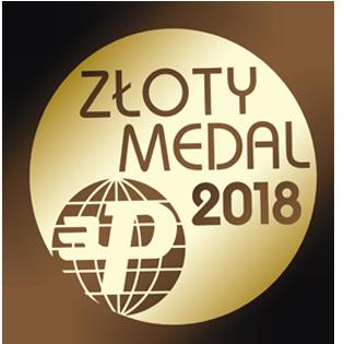Profil firmy - zloty medal 2018