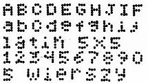 EBS-6800P - 5 wierszy 5x5 latin EBS-6800P