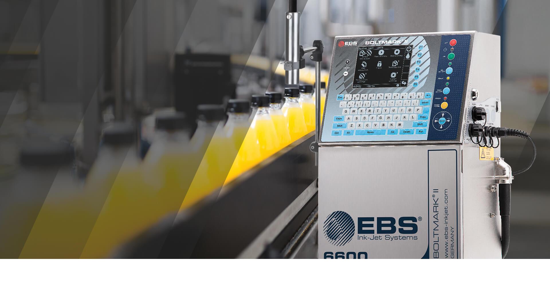 BOLTMARK - seria drukarek zkategorii małego pisma(CIJ). Idealna doprzemysłowego znakowania produktów iopakowań naliniach produkcyjnych.
