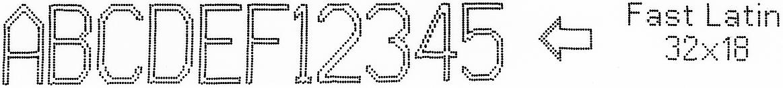 EBS-6800P - Fast Latin 32x18 1 EBS-6800P