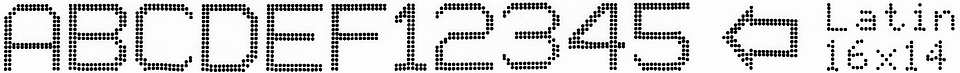 EBS-6800P - Latin 16x14 1 EBS-6800P