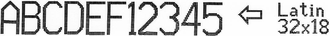 EBS-6800P - Latin 32x18 1 EBS-6800P