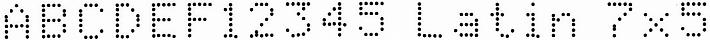 EBS-6800P - Latin 7x5 1 EBS-6800P