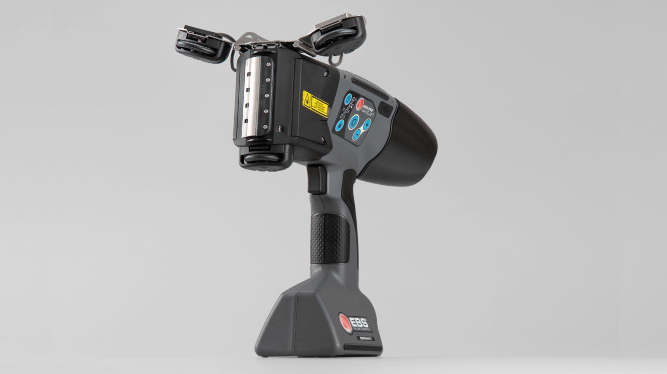 2-rolkowy stabilizator EBS-260 - P512163 - EBS 260 przemyslowa drukarka reczna akcesorium rolki po luku 2 stabilizator