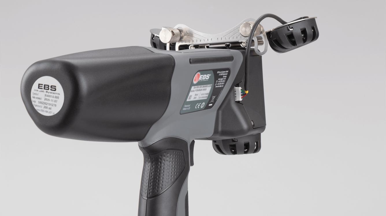 2-rolkowy stabilizator EBS-260 - P512163 - EBS 260 przemyslowa drukarka reczna akcesorium rolki po luku 3 stabilizator