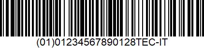 EBS-6800P - GS1 128 UCCEAN 128 EBS-6800P