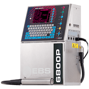 Skomplikowane powierzchnie - BOLTMARK EBS 6800P Przemyslowa drukarka Male Pismo CIJ