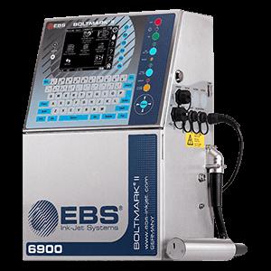 Skomplikowane powierzchnie - BOLTMARK II EBS 6900 Przemyslowa drukarka Male Pismo CIJ