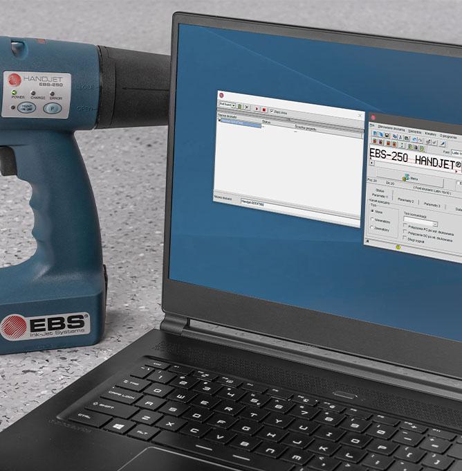 EBS-250 - EBS 250 przemyslowa drukarka reczna komunikacja edytor projektow dsc08004 EBS-250