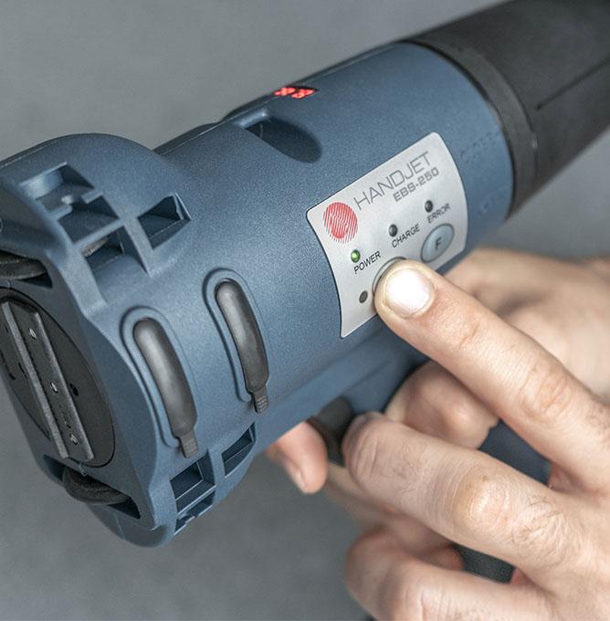 EBS-250 - EBS 250 przemyslowa drukarka reczna panel funkcyjny dsc0318 EBS-250