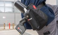 Kabura z pasem na biodro - kabura EBS 260 przemyslowa drukarka reczna akcesorium kabura dsc00285
