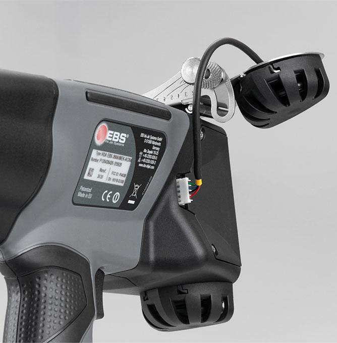 EBS-260 - EBS 260 przemyslowa drukarka reczna akcesorium zlacze rolki pokole img2865 EBS-260