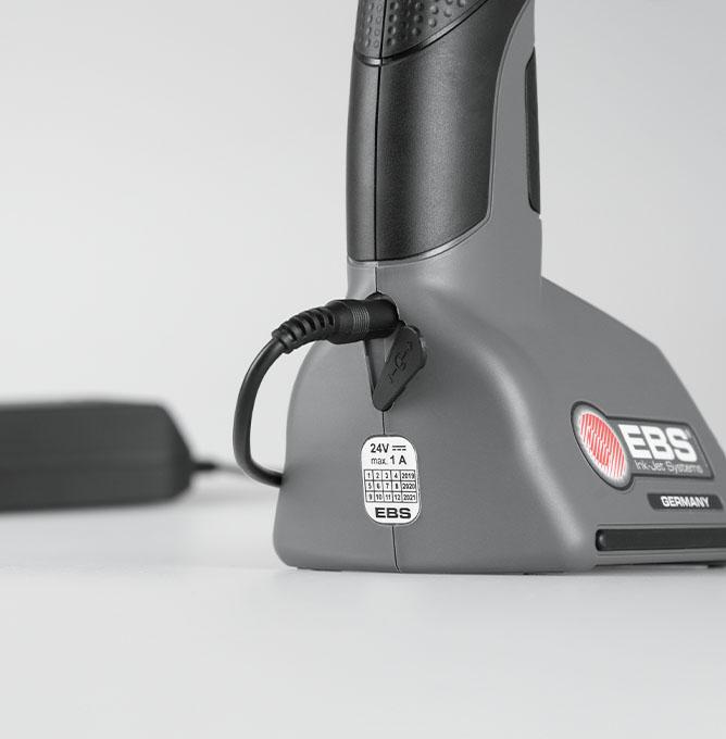 EBS-260 - EBS 260 przemyslowa drukarka reczna ladowanie dsc0499 EBS-260