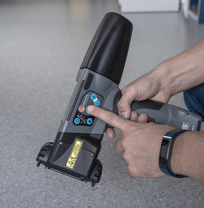 EBS-260 - EBS 260 przemyslowa drukarka reczna panel przyciskow dsc0323 EBS-260