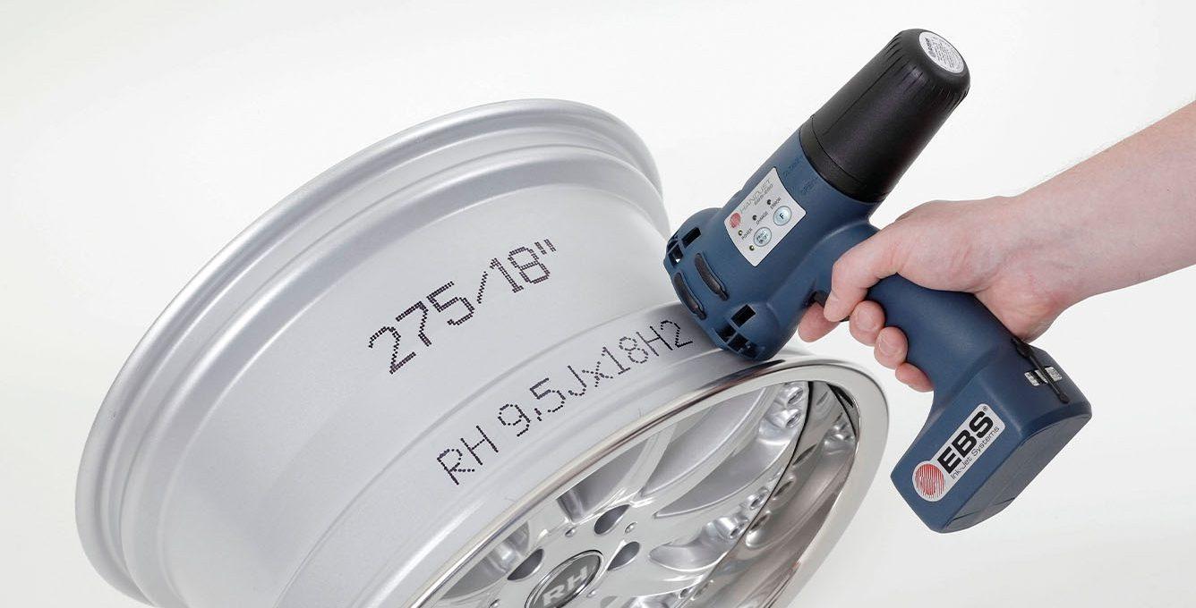 EBS-250 - EBS 250 przemyslowa drukarka reczna wydruk nametalu img0022 EBS-250