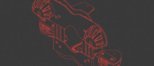 4-rolkowy stabilizator EBS-260 – P512977 - 4 rolkowy stabilizator do blatow EBS 260 Stabilizator