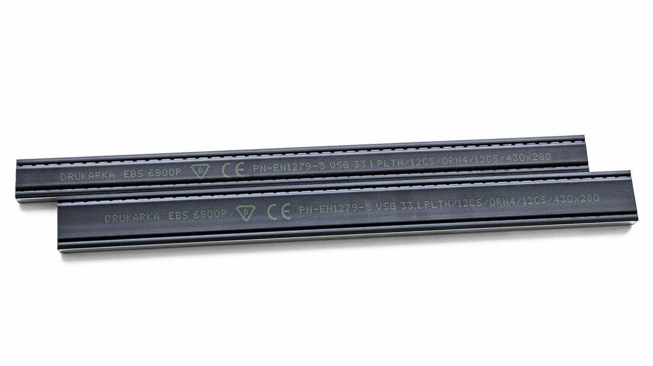 Części i podzespoły produkcyjne - EBS 6800P nadruk na listwie okiennej img 1017