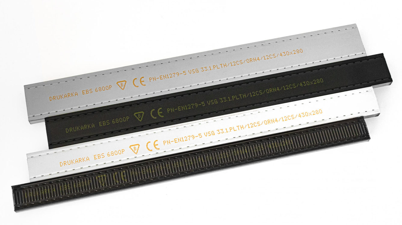Części i podzespoły produkcyjne - EBS 6800P nadruk na listwie okiennej img 1100