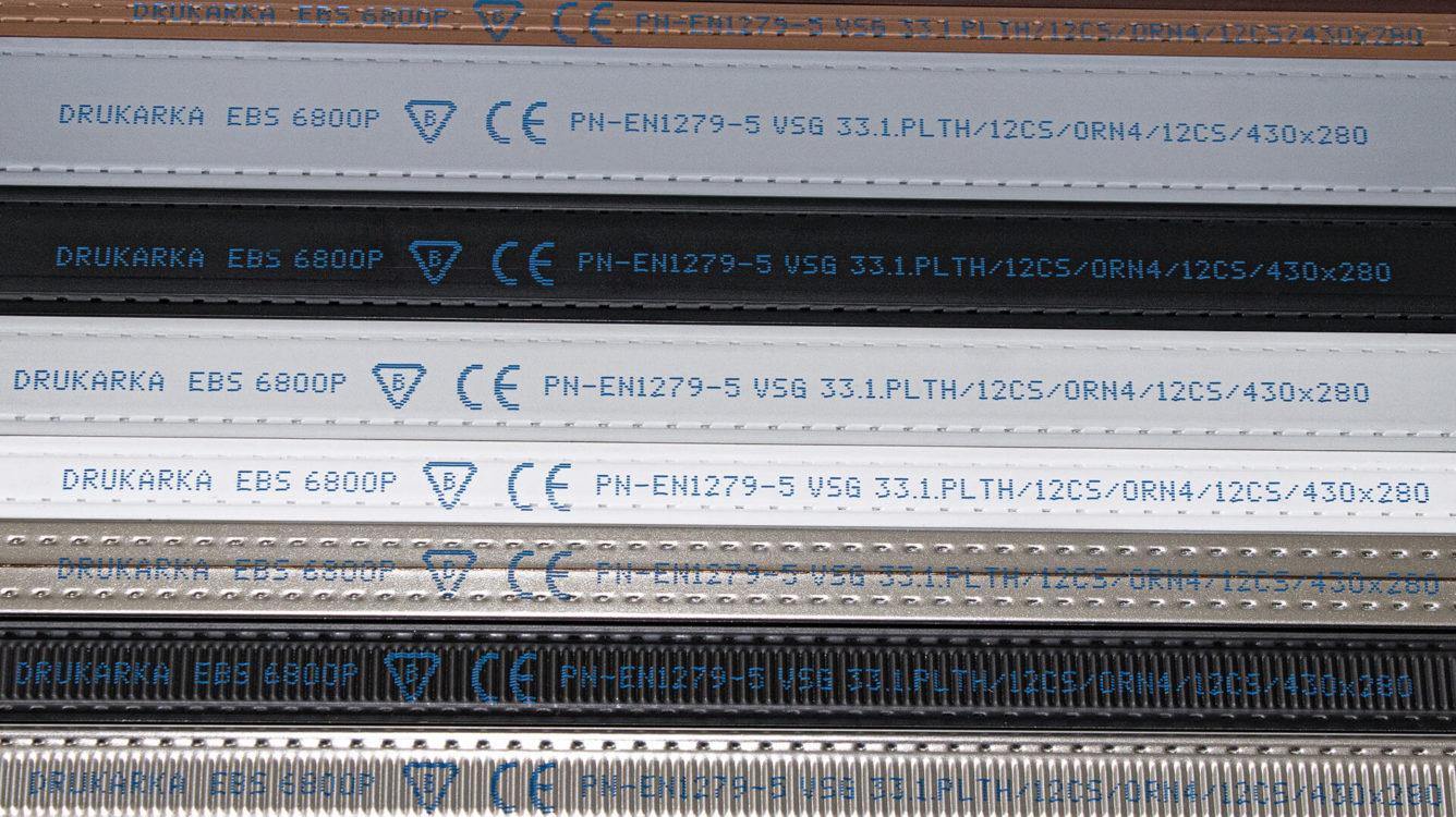 Części i podzespoły produkcyjne - EBS 6800P nadruk na listwie okiennej img 1112