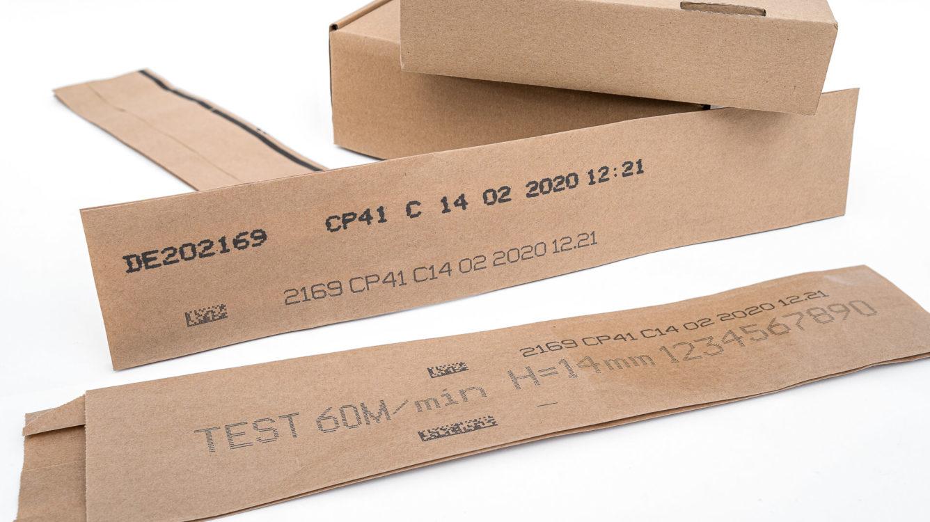 EBS-6600 - EBS-6600 EBS 6900 wydruk czarnym atramentem nakawalkach szarego papieru dsc00049