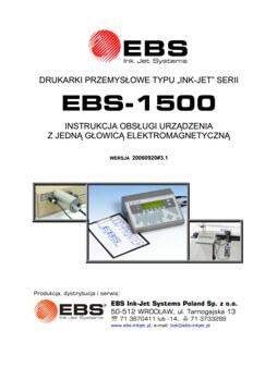 Biblioteka - biblioteka EBS 1500 EM UM20060920v3 1PL miniature