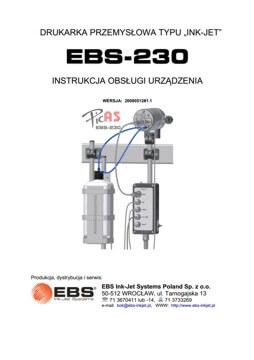 Biblioteka - biblioteka EBS 230 Instrukcja obslugi20080512v1 1 PL miniature
