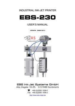 Biblioteka - biblioteka EBS 230 Users manual20080512v1 1 EN miniature