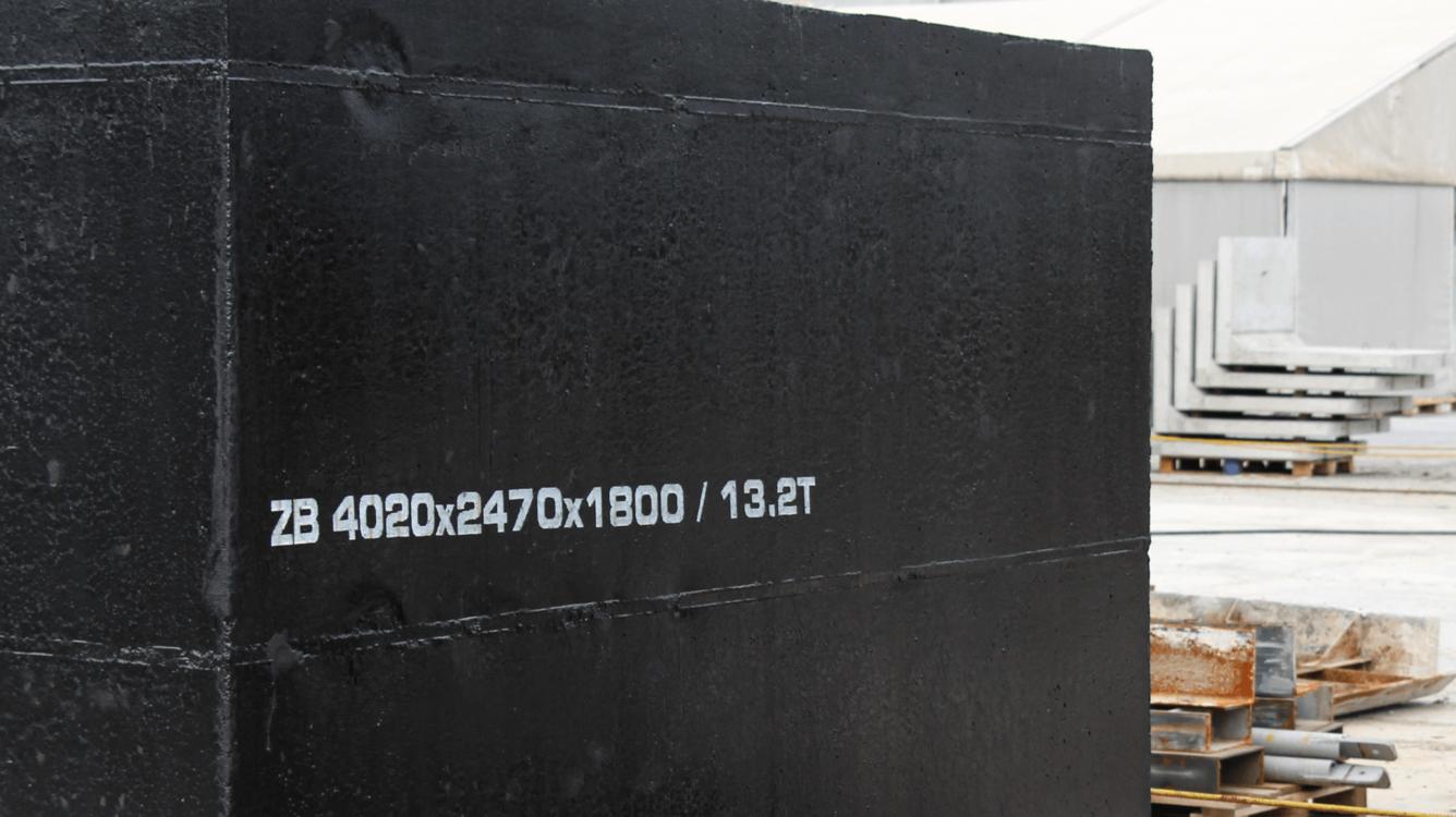 Znakowanie betonu i prefabrykatów betonowych - Handjet EBS 260 znakowanie prefabrykatow betonowych 9