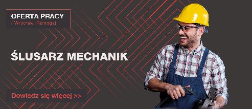 OFERTA PRACY: ŚLUSARZ MECHANIK - Oferta pracy wide slusarz mechanik493