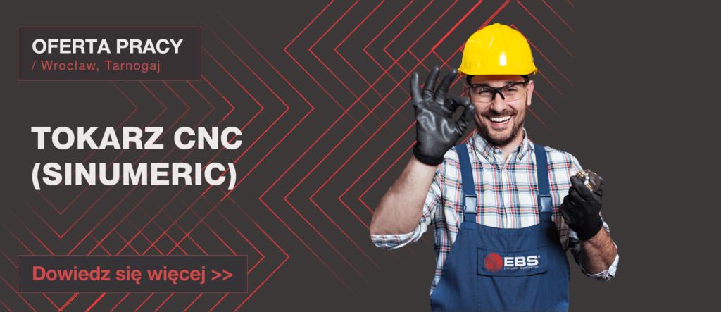 OFERTA PRACY: TOKARZ CNC (SINUMERIC) - Oferta pracy wide tokarz cnc